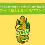 ドッグフードに使われるトウモロコシについて。世界最大級の収穫量で安価だが高GI値が懸念される